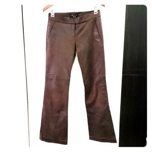 Theory leather pants